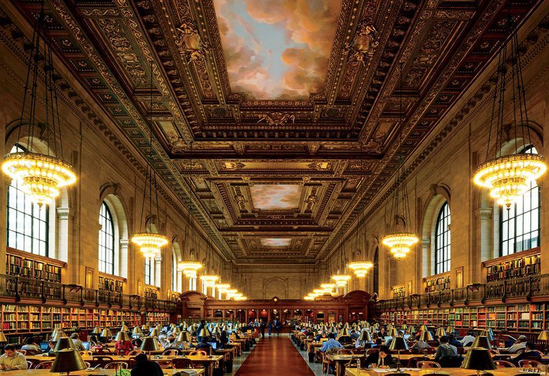 ленинская библиотека фото
