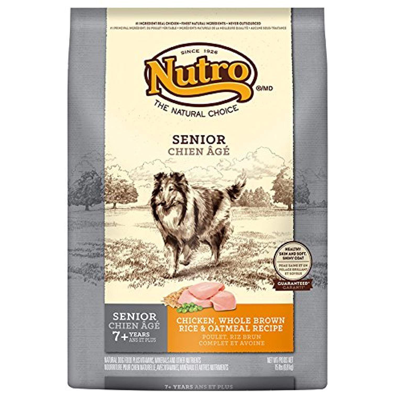 Nutro Core Dry Dog Company Senior Wholesome Essentials Dog