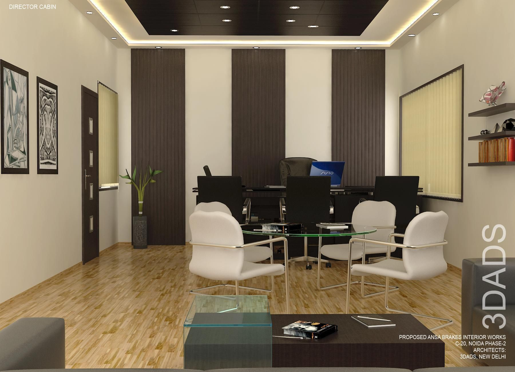 modern office cabin interior design by 3da best office interior