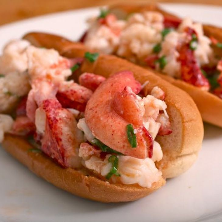 Connecticut Style Warm Buttered Lobster Rolls Recipe Lunch