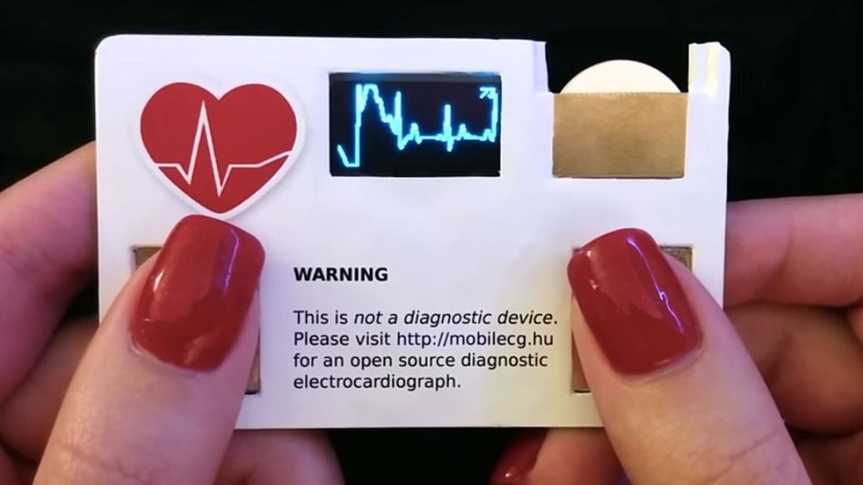This cool business card will also tell you your pulse rate gadget this cool business card will also tell you your pulse rate colourmoves