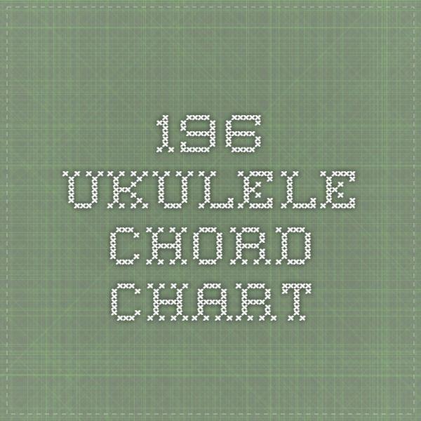 196 ukulele chord chart Ukulele! Pinterest Ukulele chords - ukulele chord chart