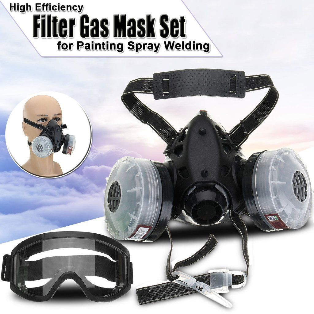 Emergency Survival Gas Mask with Filter Dustproof Safety