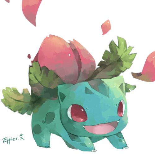 Ivysaur Pokemon I Love This Take On Ivysaur Looks Really Cute Pokemon Cute Pokemon Pokemon Starters
