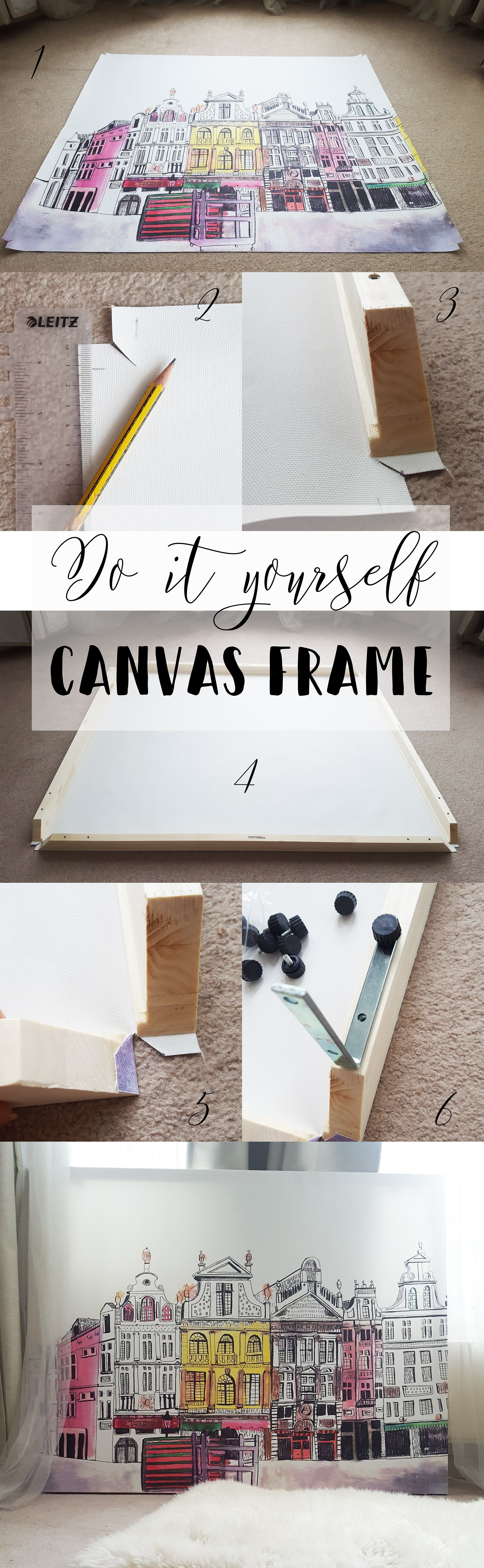 Oversized canvas from photowall check out how i make it in simple