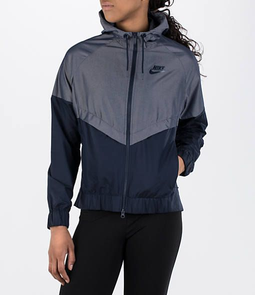 e1a37132d490 NIKE WOMEN S SPORTSWEAR WEATHER-RESISTANT WINDRUNNER JACKET