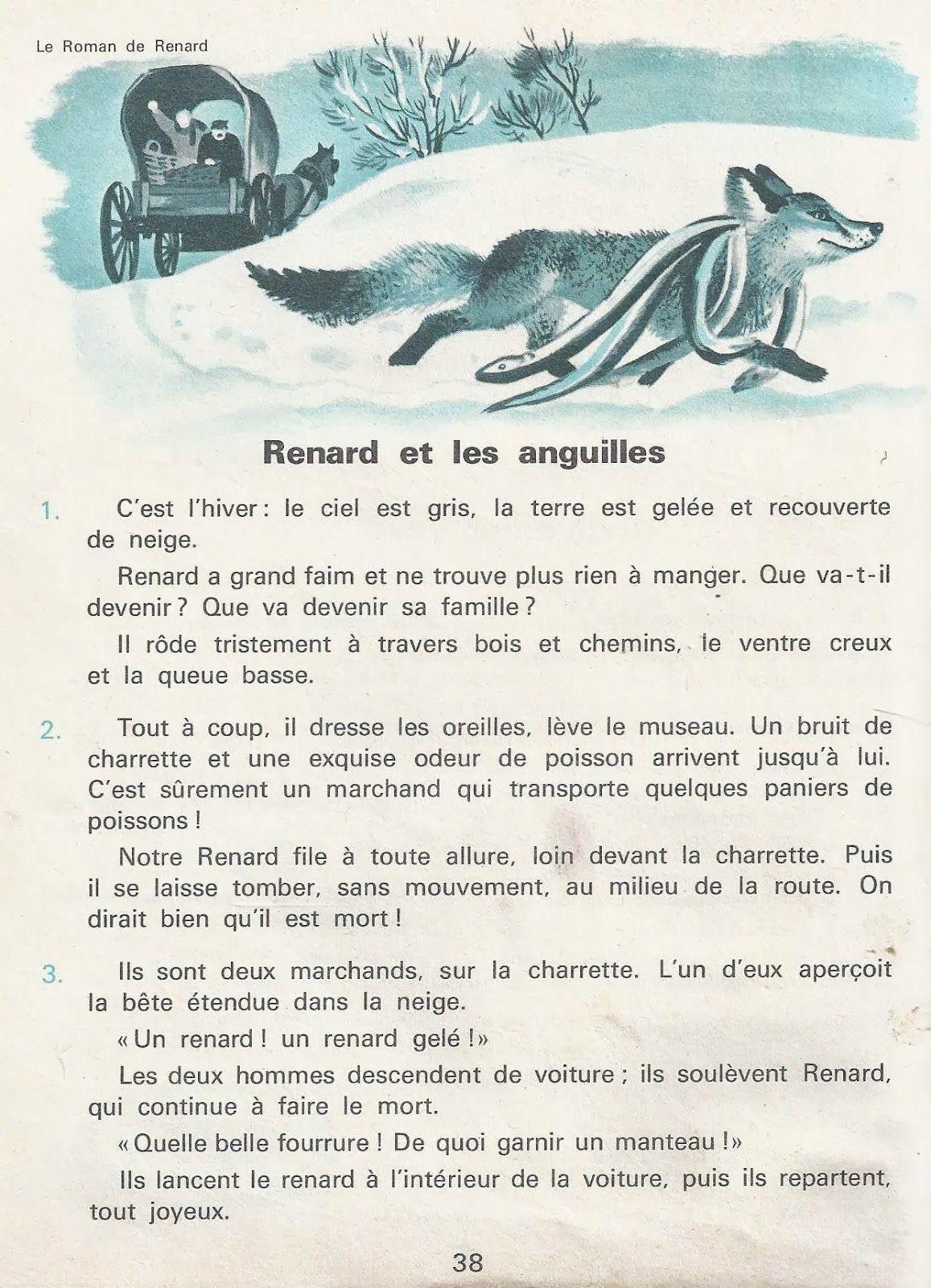 4 Aventures De Renard Le Roman De Renart Roman De Renart L Education Francaise Roman