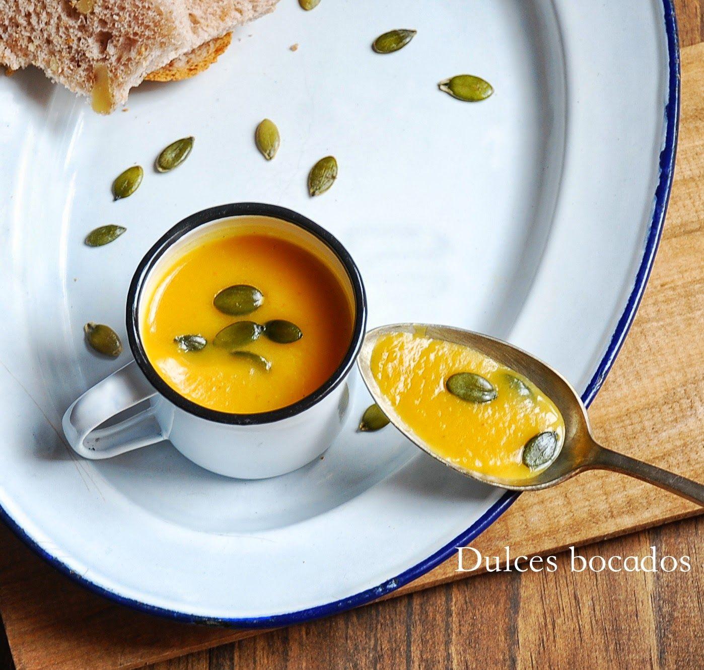 Cocinar Crema De Calabaza | Dulces Bocados Crema De Calabaza Con Curry Recetas Para Cocinar