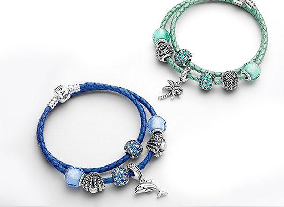 Pandora, des collections de bijoux  charms, bracelets, pendentifs pour  femmes et hommes.