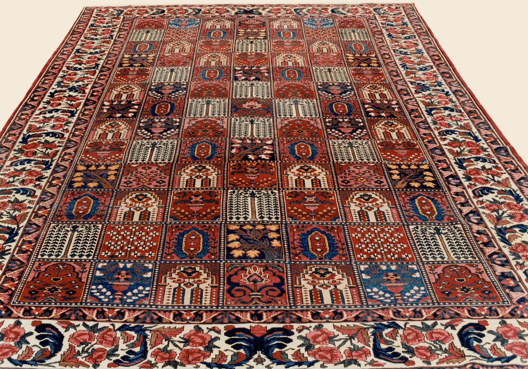 Bakhtiari 11 0 X 15 4 Circa 1910 Price 20 000 Central Persian Antique Rug Claremont Rug Company Rugs Claremont Rug Company Oriental Persian Rugs