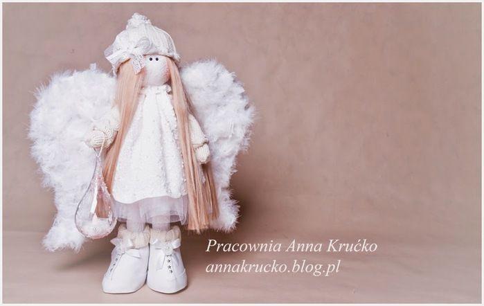 Кукла ангелочек своими руками