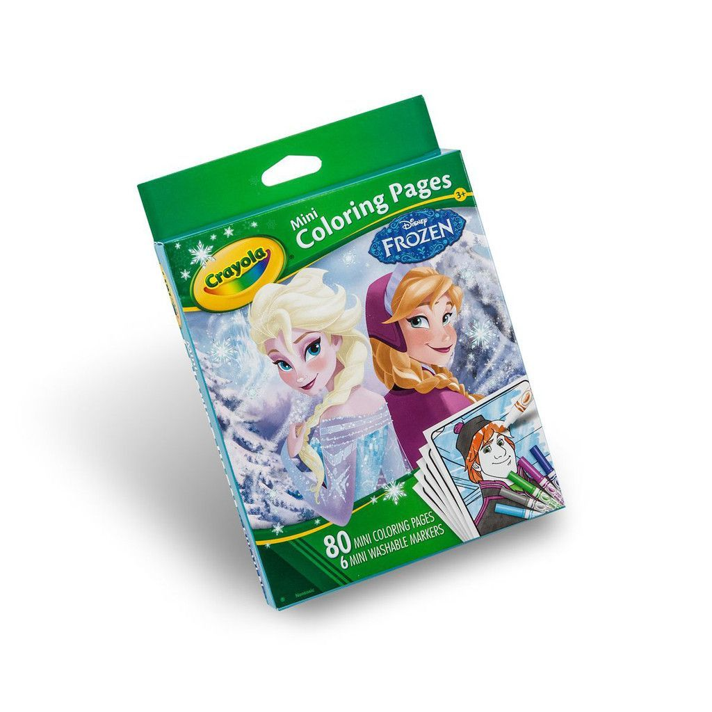 Lovely Crayola Mini Coloring Pages 21 Frozen