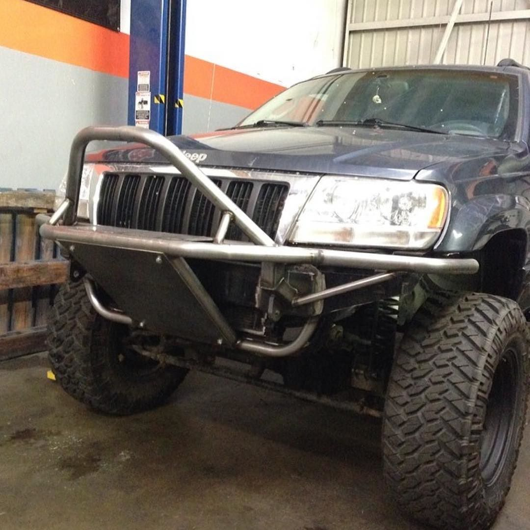 Leadfoot Offroad On Instagram Working On Final Fitment And Plans To Put Our Popular Wj Bumper Into Full Production If Jeep Wj Jeep Bumpers Truck Bumpers