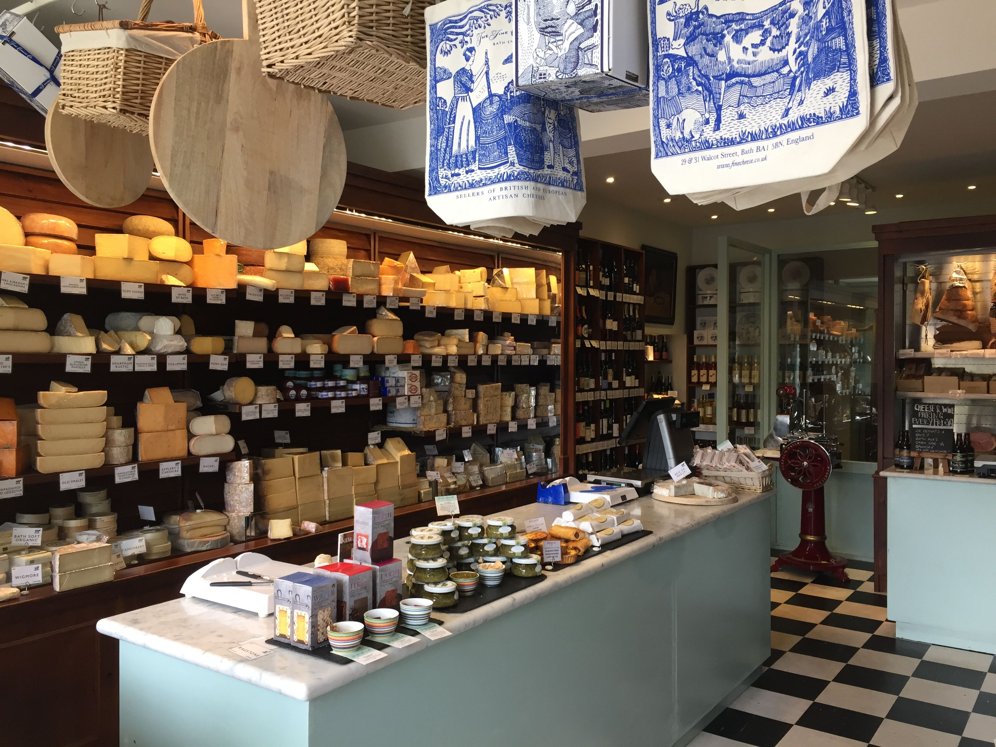 Our Cheese Shop In Bath The Fine Cheese Co Fine Cheeses Cheese Shop Cheese Hampers
