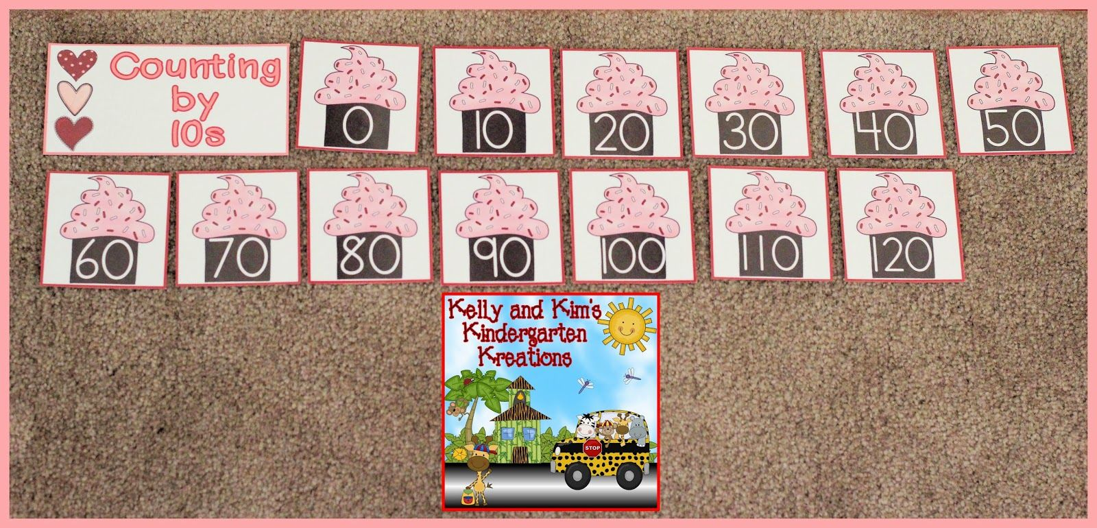 Valentine S Day Math Center Ip Counting By 1s 2s 5s