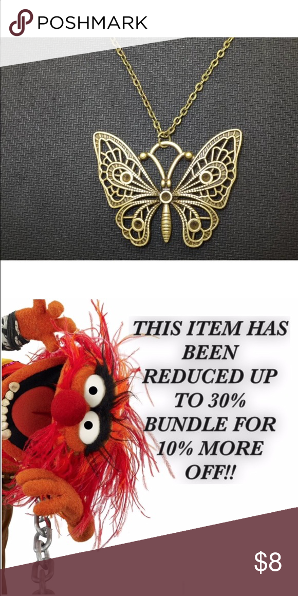 BUTTERFLY   BUY ANY 5 GET 50% OFF Pretty necklace Jewelry Necklaces
