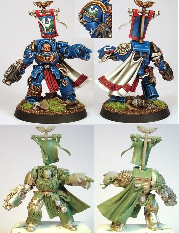 Space Marine Terminator Captain of the Ultramarines