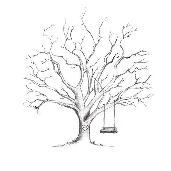 Imagen Relacionada Dibujos De Arboles Secos Arbol De Huella Digital Dibujos De Arboles