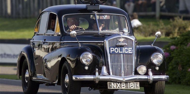 Hillman Imp de los 70 (U.K.) Police cars, British police