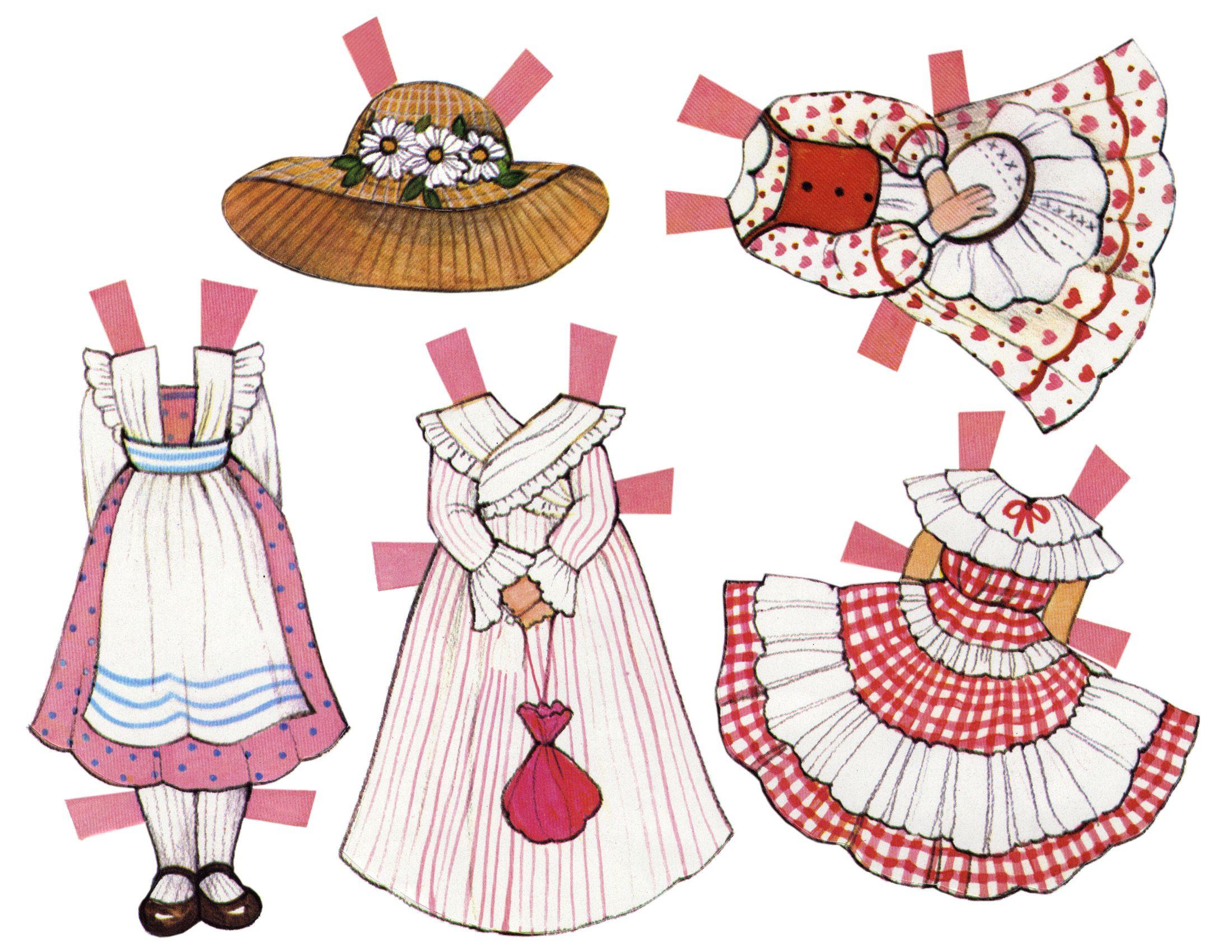 Картинки поделка из бумаги куклам