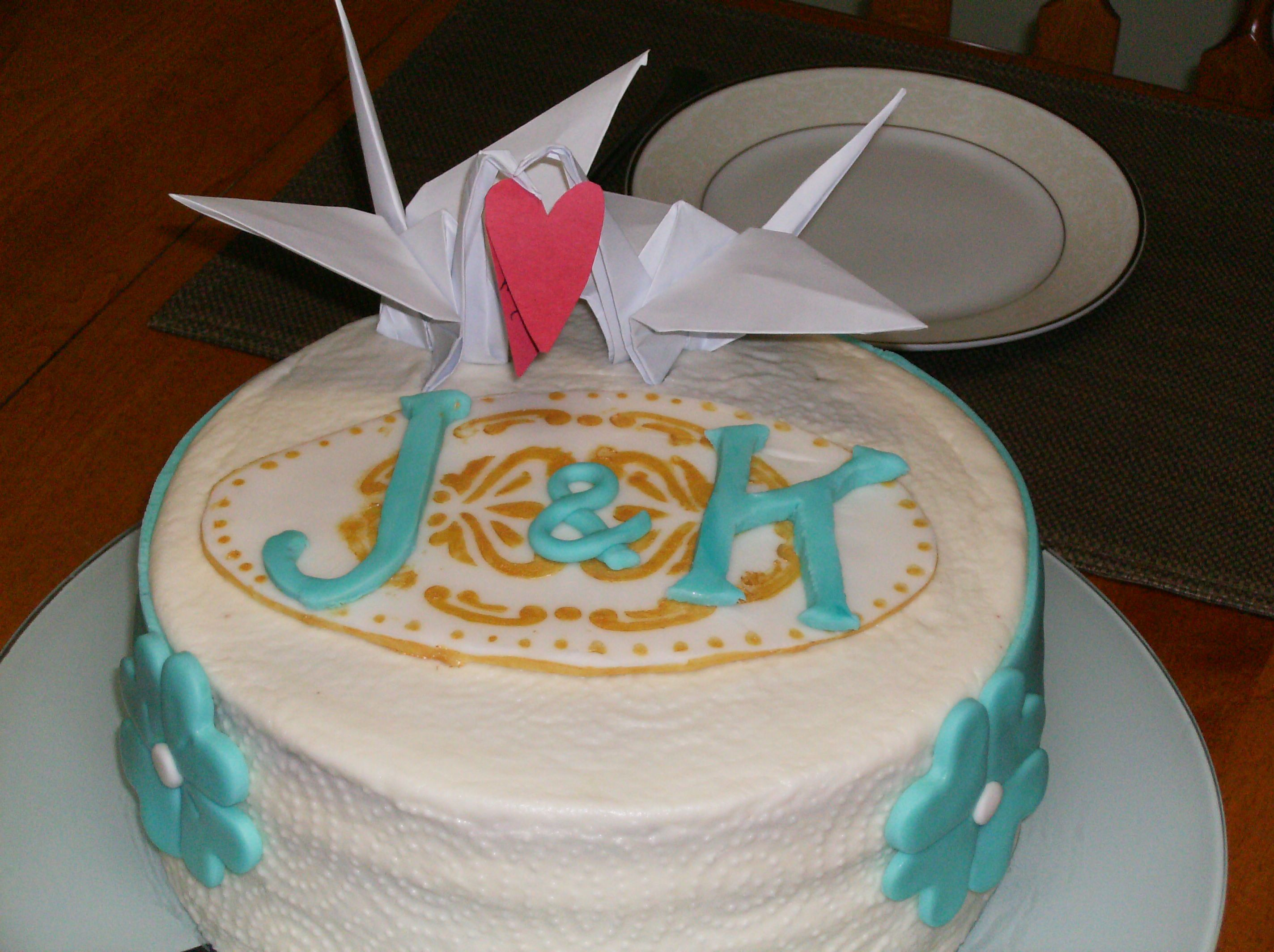 St anniversary paper cake favorite recipes pinterest paper