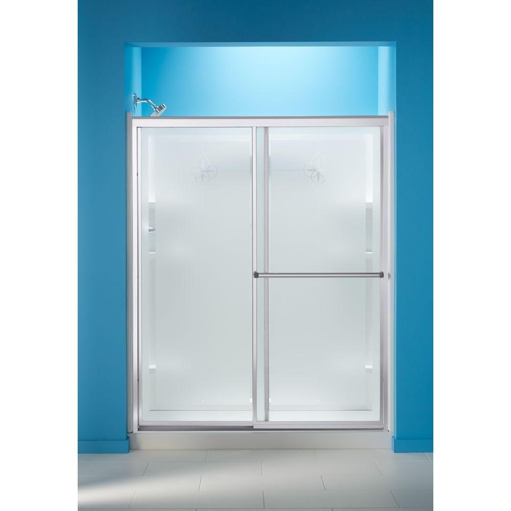 Sterling Prevail 59 3 8 In X 70 1 4 In Framed Sliding Shower