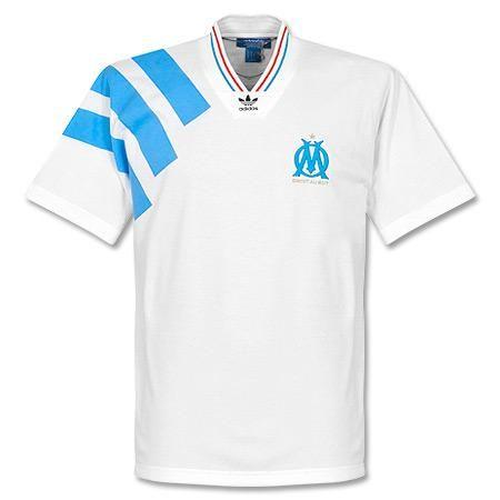 Olympique Marseille 199293 adidas Originals Retro Jersey