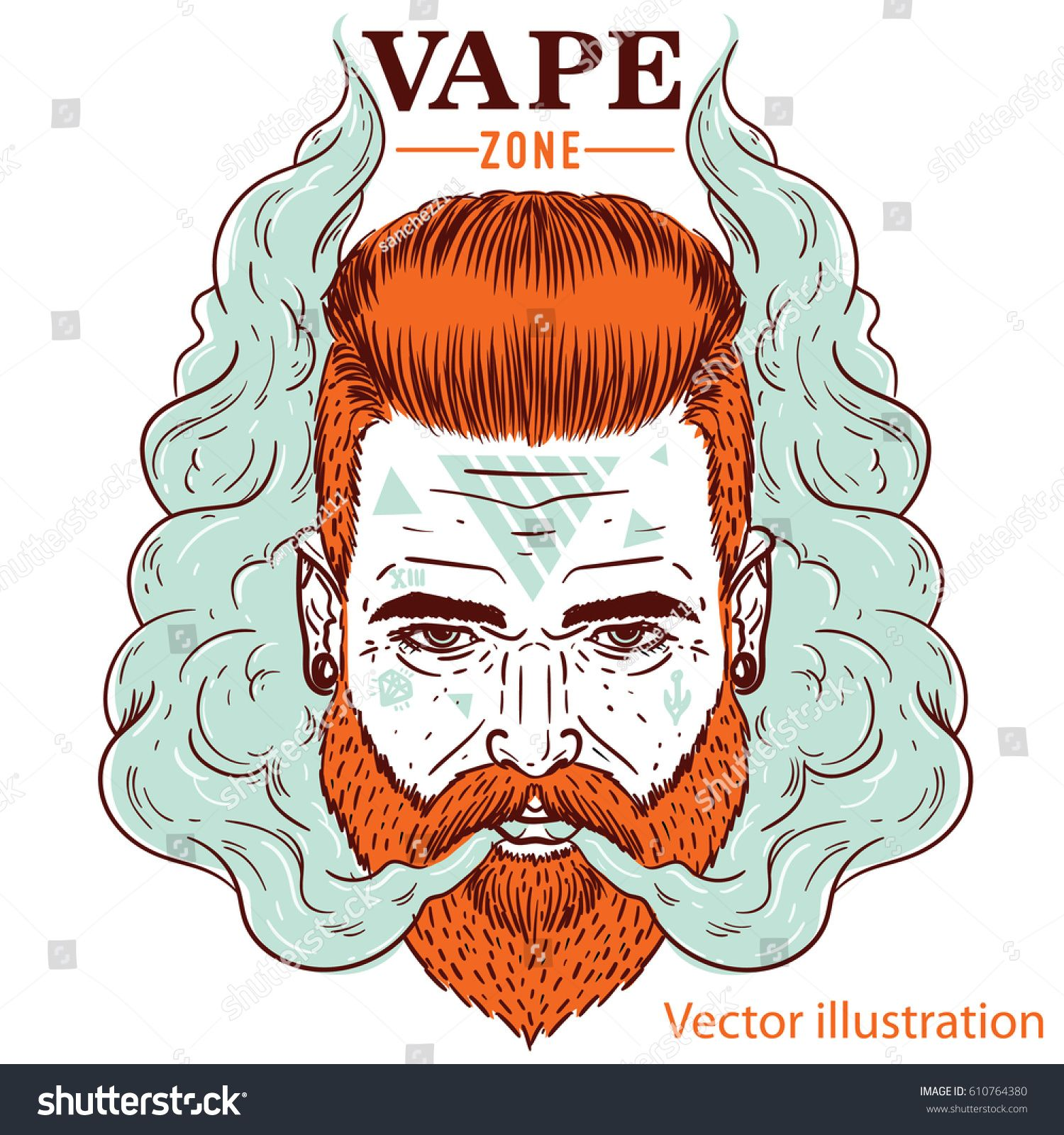 Image result for crazy beard illustration (With images