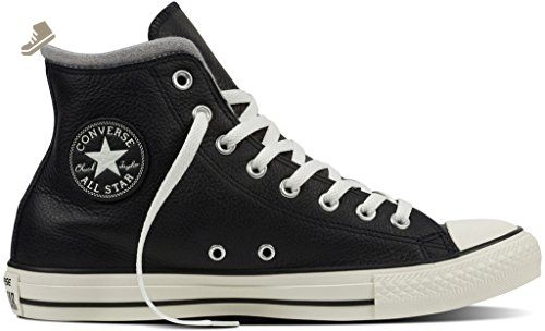 3e8e17ae7f32 Converse CTAS HI Leather + Wool mens fashion-sneakers 153820C 8.5 -  BLACK EGRET DOLPHIN - Converse chucks for women ( Amazon Partner-Link)
