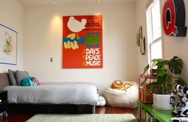 Kids Bedroom Allows You To Add Bright And Bold Posters With Ease