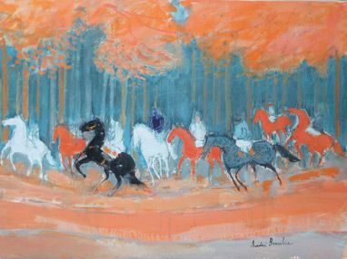 """ON IDLE SHORES"""" Andre Brasilier Solo Exhibition @Le French May ..."""