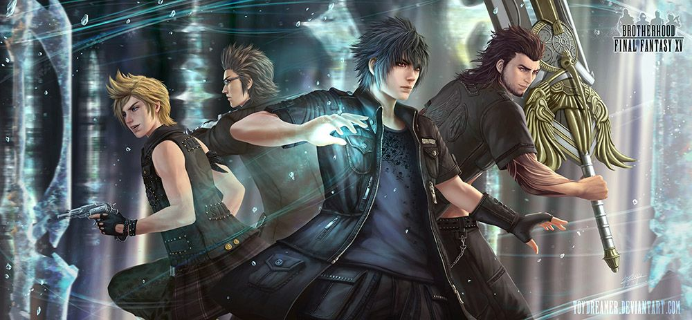 Final Fantasy Xv Wallpaper 4k Whit New Prompto By: Stand By Me By TOYDREAMER On DeviantArt