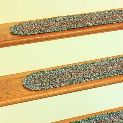 Best August Grove Tartaglia Denim Blue Indoor Outdoor Stair 400 x 300