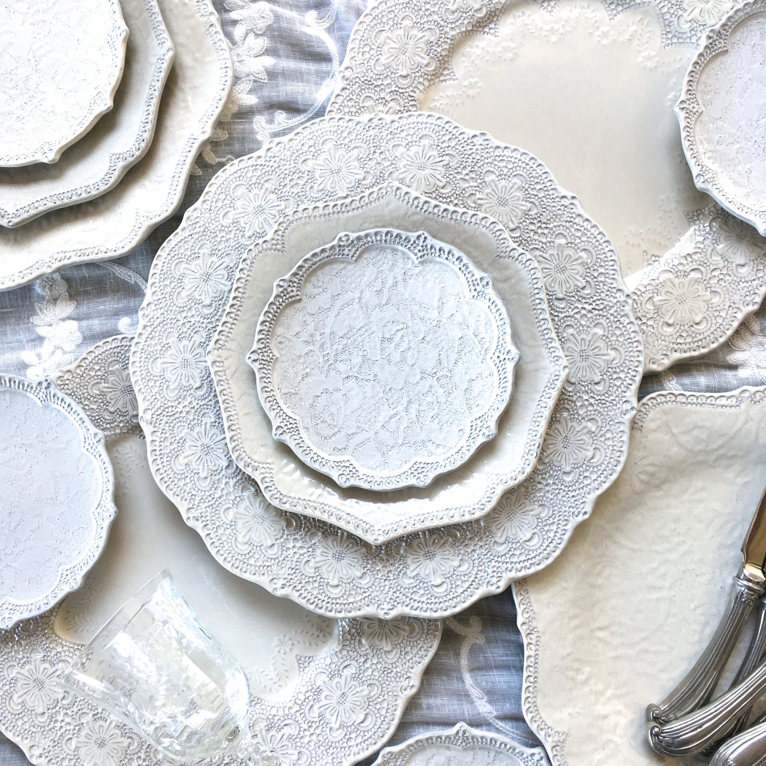 the ARK collection - Amalfi Lace China & the ARK collection - Amalfi Lace China | ARK Dinnerware collections ...