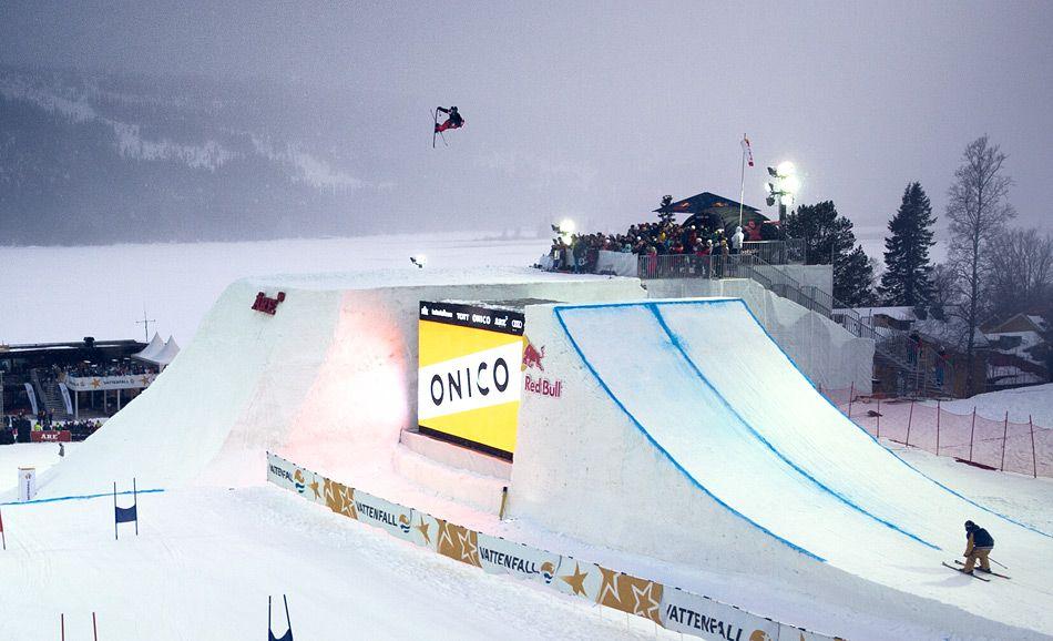 Jon Olsson Invitational Big Air 2012 Skiing, Travel, Air