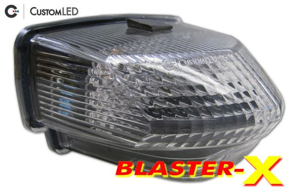 2007 2012 Honda Cbr600rr Blaster X Integrated Led Tail Light Cbr 600rr Tail Light Honda Cbr600rr