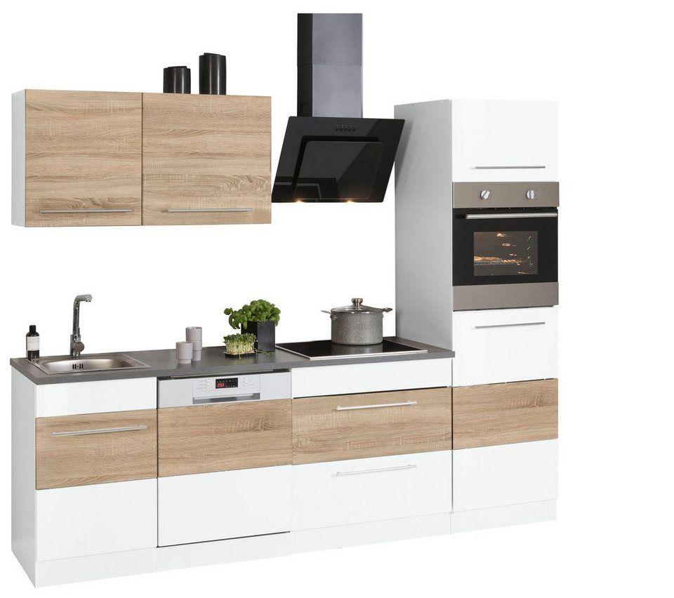 HELD MÖBEL Küchenzeile »Trient«, ohne EGeräte, Breite 250