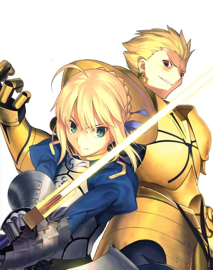 Fate Zero セイバー ギルガメッシュ 武内崇 壁紙 Tsundora Com
