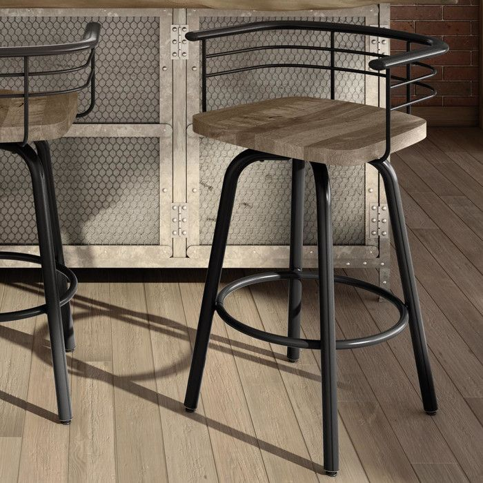 Friedell Bar Counter Swivel Stool Home Decor Kitchen Bar Stools Bar Stools Kitchen Island