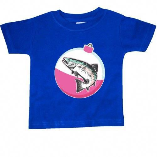 1d1d94a5 Inktastic Trout Fishing Cute Fisherman Baby T-Shirt Fisher Fish Bobber Kids  Childs Girls Hobbies Sports Hobby T-shirt Infant Tees Shower Gift Clothing  ...