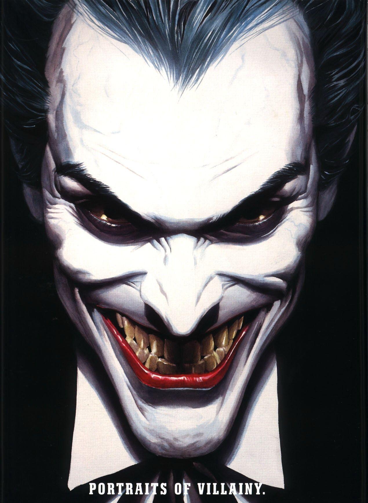 Clown Prince Art Of Alex Ross Pinterest Joker Joker Dessin