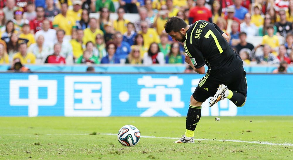 David Villa v Australia 62314 David, Villa, Soccer