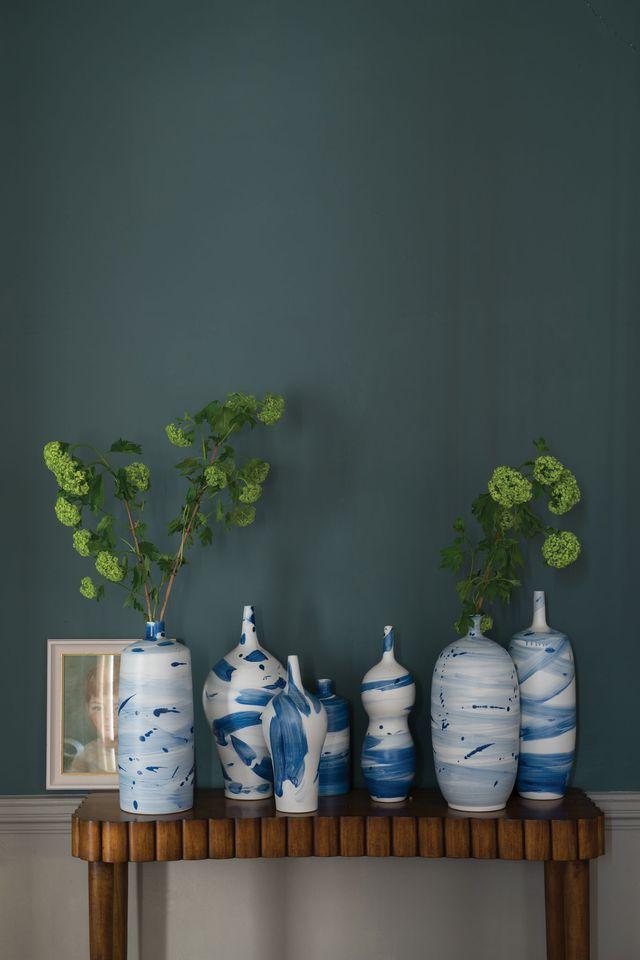 Peinture  les 9 nouvelles couleurs de Farrow  Ball Inchyra blue