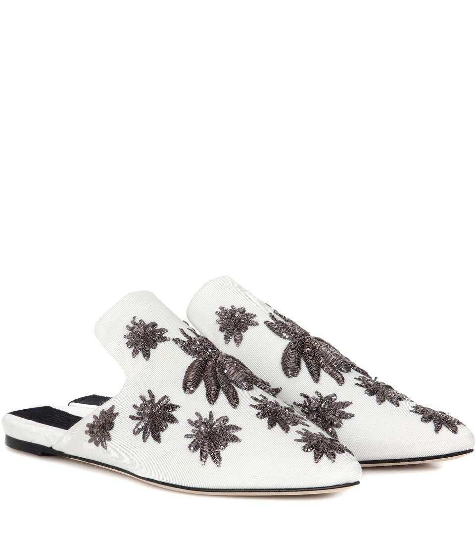 Slippers with Embroidered Details Spring/summer Sanayi 313 AhWCb