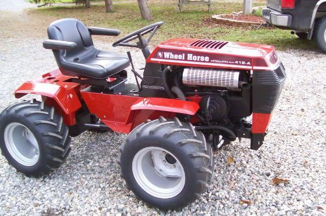 Mini Wheel Horse Tractor : Garden tractor modifications wheel horse