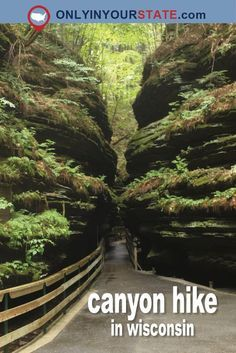 Travel | Wisconsin | Attractions | Sites | Explore | Things To Do | Weekend | Activities | Canyon Hike | Witch's Gulch | Natural Attraction | Best Hikes