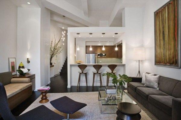 Elegant Small Kitchen Design for Condo Presents Chic Decoration ...