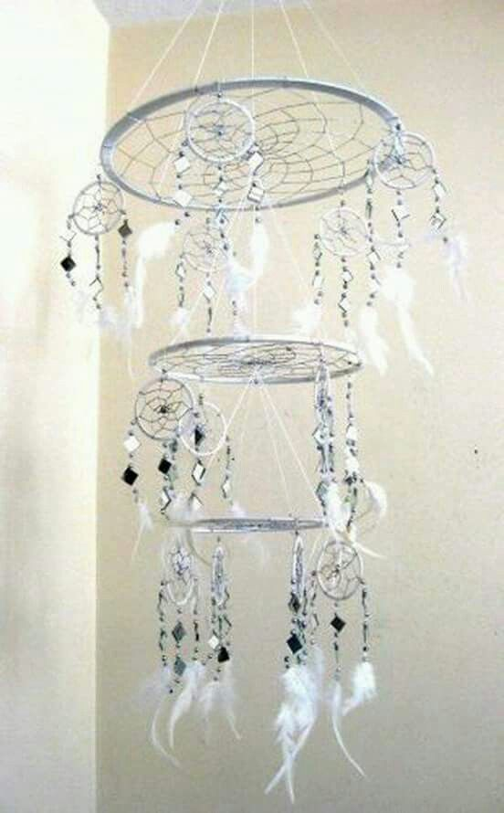 Triple awesome dreamcatcher :)