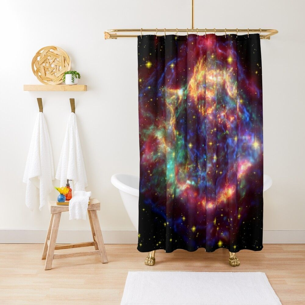 Galaxy Space Aesthetic Shower Curtain By Ema777 Aesthetic Curtain Ema777 Galaxy Shower Space In 2020 Amazing Showers Curtains Shower Curtain