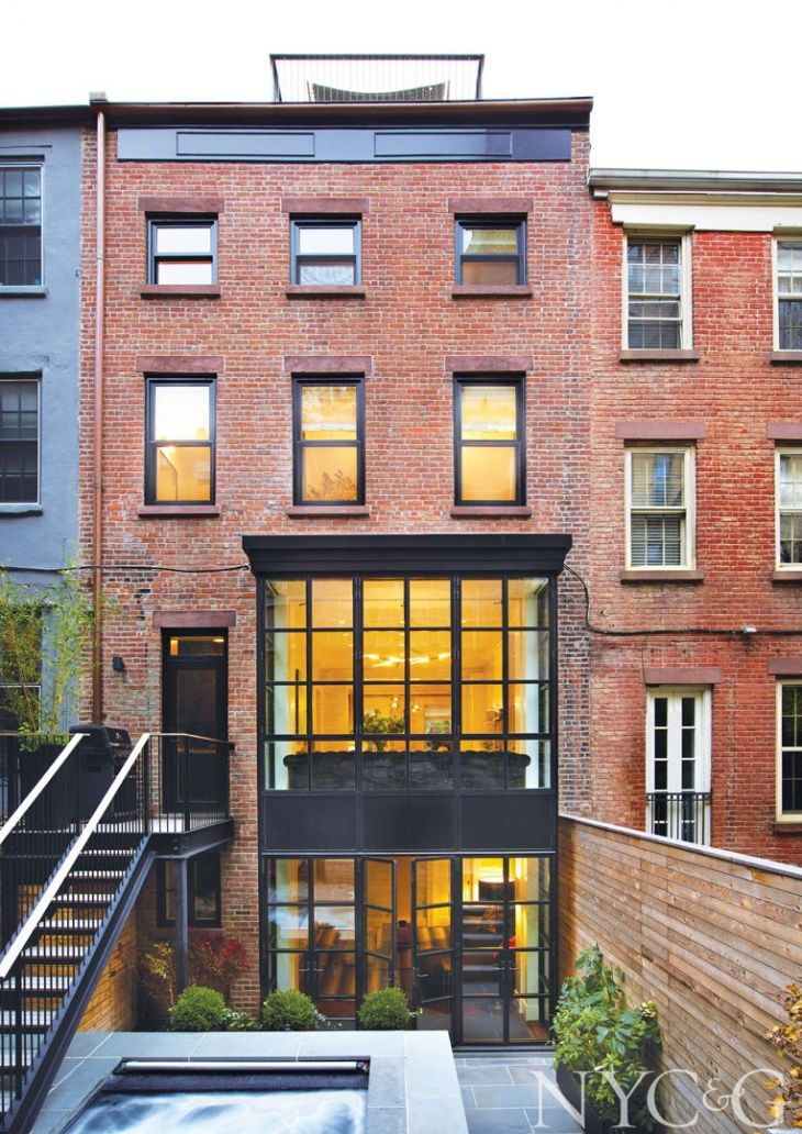 A Mid-1800s Brooklyn Heights Row House Gets a Bold New Personality ...
